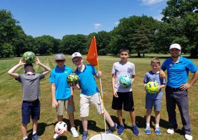 Foot golf camp