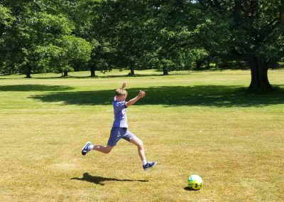 Fore! Footgolf