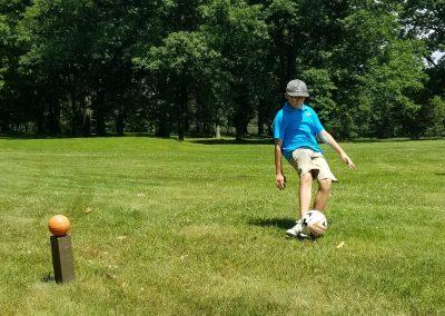 footgolf kick